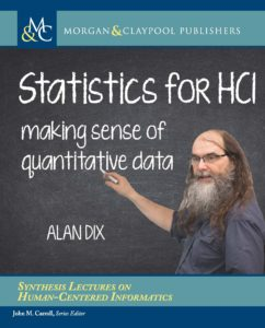 Cover: Statistics for HCI