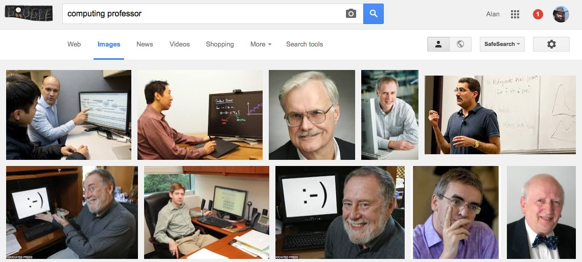 "Google image search for ""computing professor"""